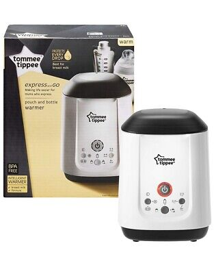 Tommee Tippee Express And GO Pouch Bottle Food Electric Warmer BNIB