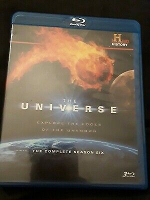 The Universe: The Complete Season Six bluray, VERY GOOD, FREE SHIPPING