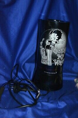 Collectable Betty Boop Lamp Going My Way 2004 Height: 31 cm