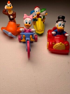 4 Mcdonalds Vintage Happy Meal Duck Tails Toys . Disney