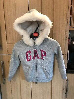 Gap Girls Winter Hoodie Jacket Age 3 Years Excellent Condition