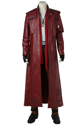 Guardians of The Galaxy 2 Peter Quill Star-Lord Full Set Cosplay Costume + Shoes