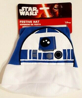Star Wars R2-D2 Childs Christmas Hat New With Tag FREE SHIPPING