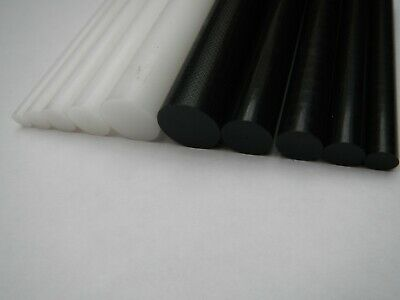 Acetal Rod Black White delrin nylon Plastic Round Bar 6mm 8mm 10mm 12mm 22mm 25m