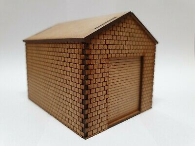 OO Gauge Model Railway MDF Laser Cut Lineside Hut
