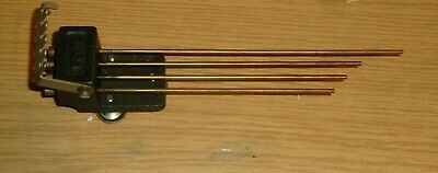 Set of gong rods No 24 from Smiths Westminster Chime clock