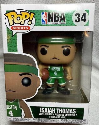 Funko Pop Isaiah Thomas IT Boston Celtics #34 - Brand New Toy action figure NBA