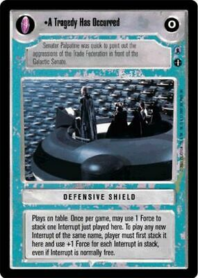 SW CCG Reflections III A Tragedy Has Occurred NM//M