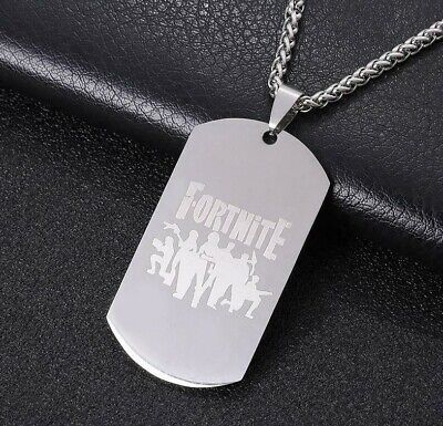 Fortnite Dog Tag/ Necklace/Pendant Battle Royal Great Gift