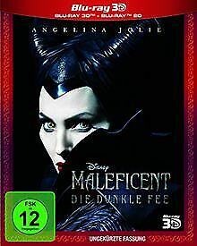 Maleficent - Die Dunkle Fee (inkl. 2D-Blu-ray) [3D B... | DVD | Zustand sehr gut