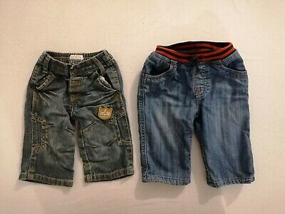 Baby boy jeans 0-3 months Mamas & Papas + Mothercare good condition