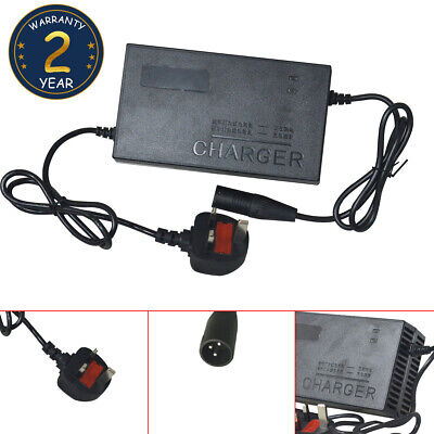 24v 3AMP CHARGER for MOBILITY SCOOTER, POWERCHAIR, LEAD ACID AGM & GEL BATTERIES