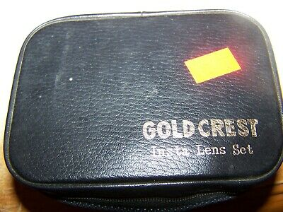 Gold Crest Insta Lens Set with case