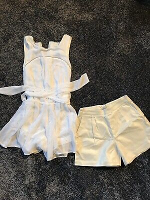 Used Miss Grant Wedding/Occasion Jumpsuit And BNWOT Miss Grant Shorts Age 14