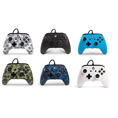 PowerA Wired Officially Licensed Controller Console PC Xbox One S Windows 10 NEW