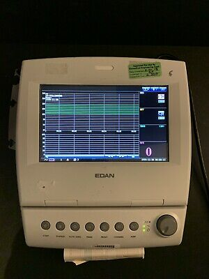 EDAN F6 Fetal & Maternal Monitor with Accessories 30 Day Warranty