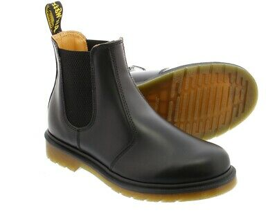 NEW Dr. Martens Men's 2976 Smooth Chelsea Black Leather Boot Shoes 11853001