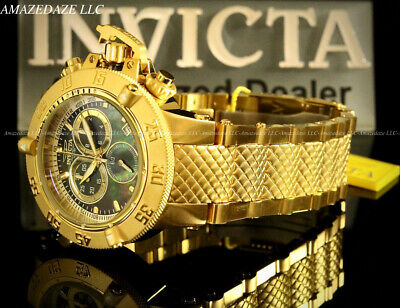 Invicta 50mm Men Subaqua Noma III Swiss ETA Chronograph Stainless Steel Watch