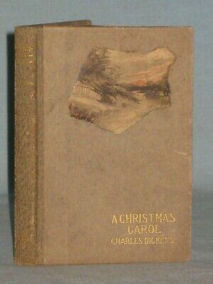 1901 Book A Christmas Carol By Charles Dickens