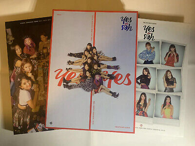 twice yes or yes album VER. A/B/C No Photocards