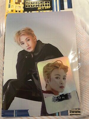 Nct 127 Mark We Are Superhuman Smtown Official Goods Hologram Photo Card Set