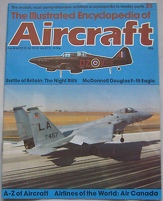 Aircraft Issue 25 McDonnell Douglas F-15 Eagle cutaway drawing