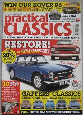 Practical Classics January 2009 featuring Riley, Reliant