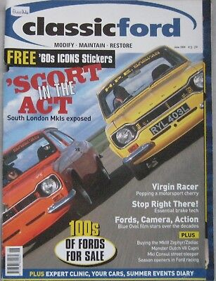Classic Ford magazine June 2004