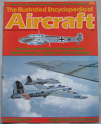Encyclopedia of Aircraft Issue 77 English Electric Canberra cutaway drawing