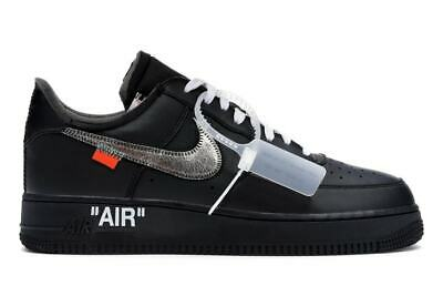 Nike Air Force 1 OFF WHITE LOW VIRGIL MOMA AF1 Scarpe Uomo Shoes man