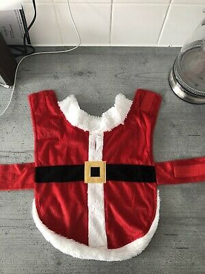 Dog Santa Father Christmas Outfit Size S/M