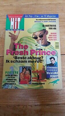 HITKRANT week31 '93 Dutch Music magazine, Jackson A-HA Prince Barrymore UB40
