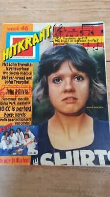 HITKRANT week46 '78 Dutch Music magazine, Grease Shirts 10CC Styx Beach Boys