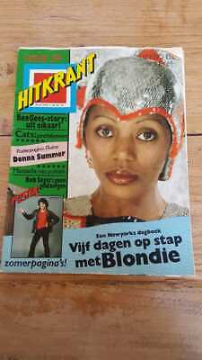 HITKRANT week29 '78 Dutch Music magazine, Elvis Stones Blondie Summer Mercury