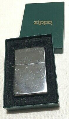 Classic ZIPPO Windproof High Polished Chrome Lighter 250 Unused In Box & Papers
