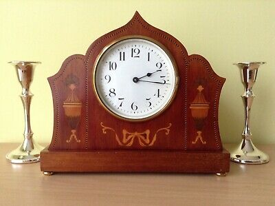 Antique clock Duverdrey & Bloquel 8 day c.1910 WO