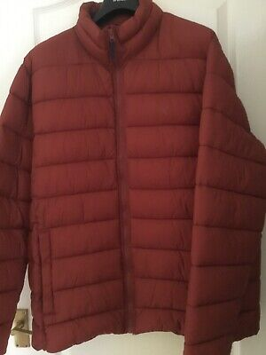 Gents Joules quilted coat - terracotta colour - size XL
