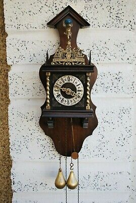 Vintage Dutch Zaandam Wall Clock
