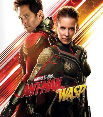 ANTMAN & THE WASP MOVIE ( Blu-Ray ONLY ). NEW. READ DETAILS.