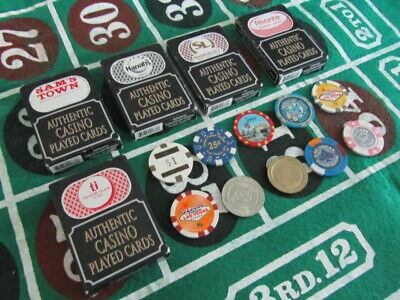 Casino Chip Card Token Lot Las Vegas Hard Rock Dunes ti Harrahs Sams Town Plaza