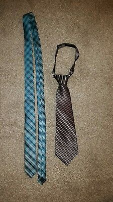 2 x Marks and Spencer ties Age 7-10
