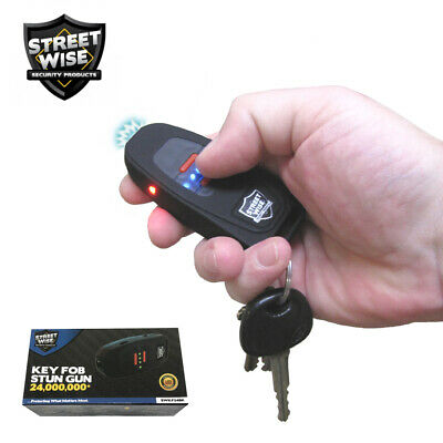 Streetwise Keychain Stun Gun 24,000,000 w/ Battery Status Indicator Self Defense