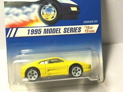 1995 Hot Wheels First Edition Ferrari 355 10//12 5 Spoke Hub Wheels