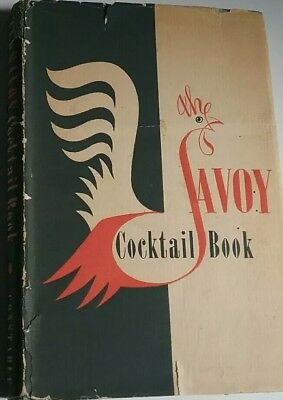 The Savoy Cocktail Book - Constable - 1959