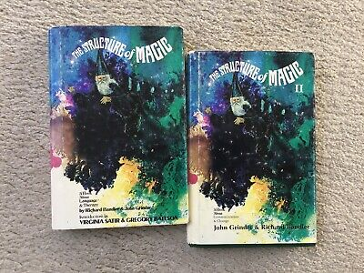 The Structure of Magic - Two Volume Set by Bandler, Richard; Grinder, John Rare