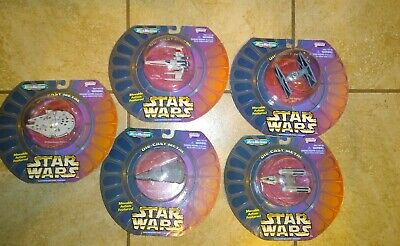 Star Wars ~ Micro Machines Lot of 5 Vehicles Millennium Falcon ~ Galoob 1997