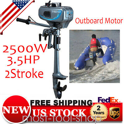 2.5kW 3.5HP 2Stroke Outboard Motor Fishing Boat Engine with Water Cooling System