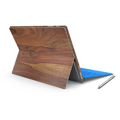 Rosewood Timber Printed Vinyl Skin Sticker Wrap to Cover Surface Pro Back &Sides