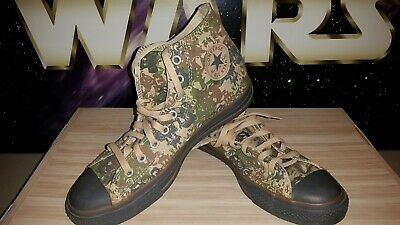 "Converse All Star Chuck Taylor ""Gas Mask Camo"" New SKU 1W316 SZ 10M/12W"