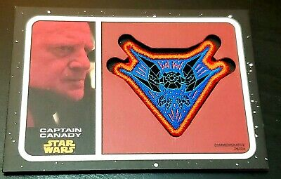 2019 Topps Star Wars Journey to The Rise of Skywalker Canady Patch Card PC-CCT